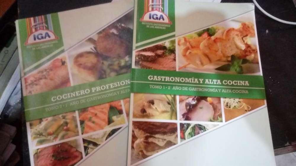 Libros iga gastronomía