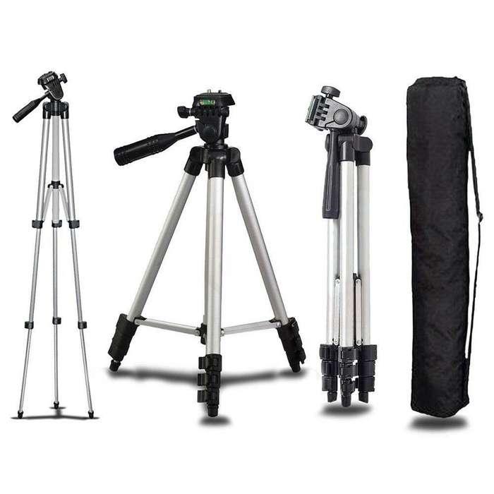 Trípode profesional soporte ligero Videocámara Cámara Para DSLR Canon Nikon Sony