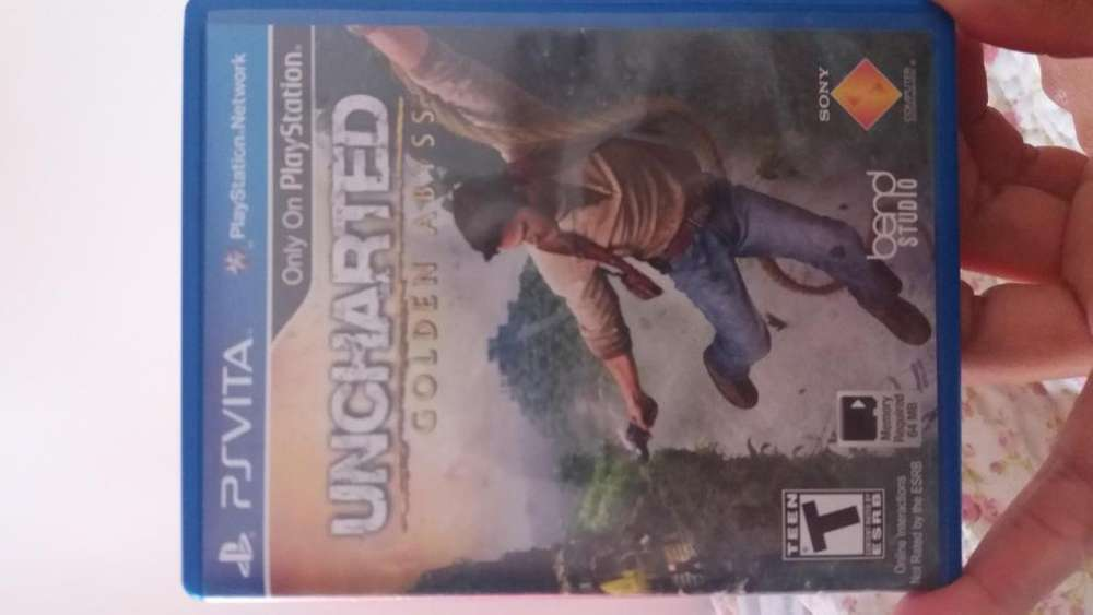 Juego Psvita uncharded golden abyss