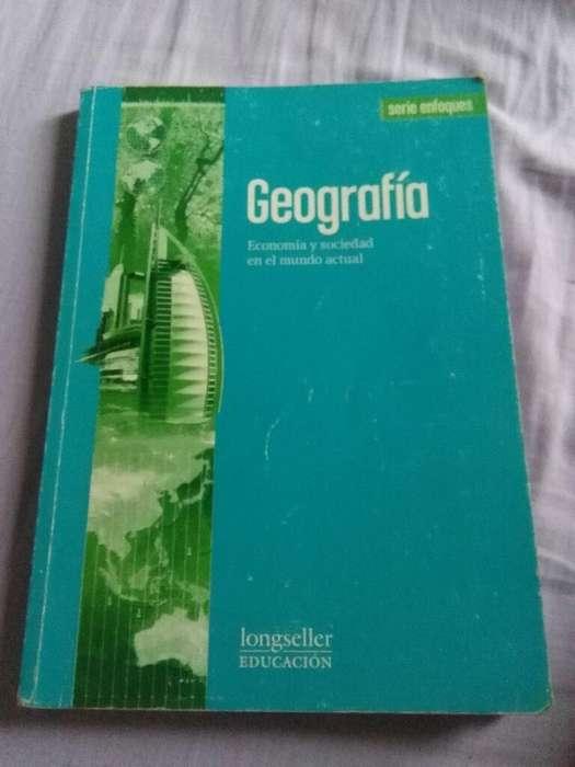 Geografia . Economia Y Sociedad en El mundo actual . Longseller 2010 libro Geografia 1