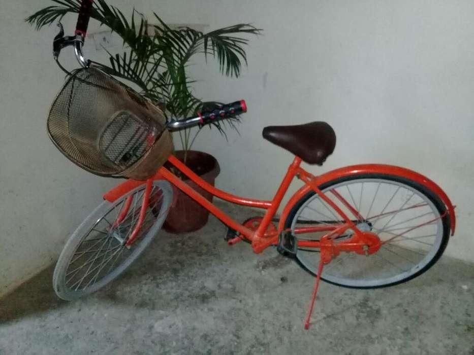 Vendo <strong>bicicleta</strong> Clasica de Mujer