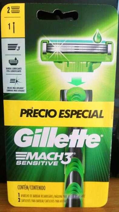 Maquinas de afeitar Gillette