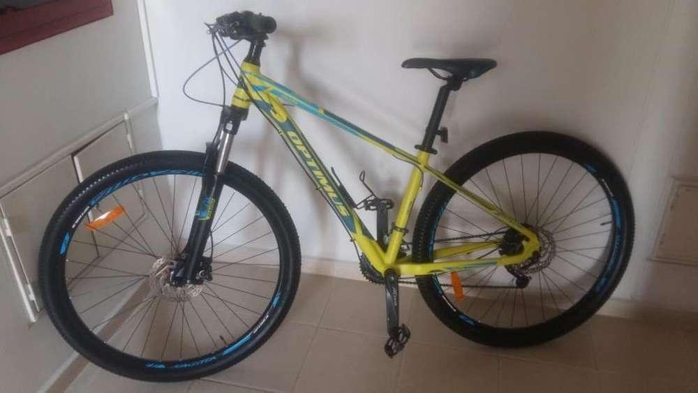 Vendo Bicicleta Optimus Saggita 9X3