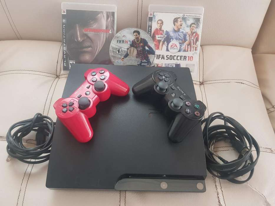 Play Station 3 Slim Muy Completo