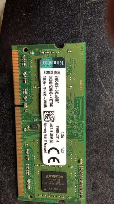 Memoria Laptop 4Gb Ddr3 1600