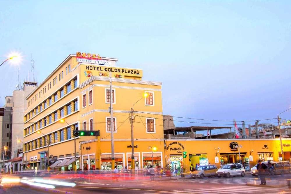 Vendo Hotel en la misma plaza de armas de ICA