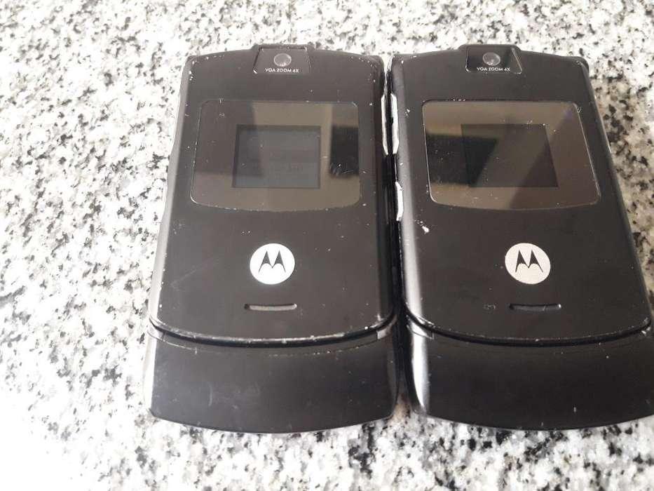 Motorola con Cámara, Listo para Usar.