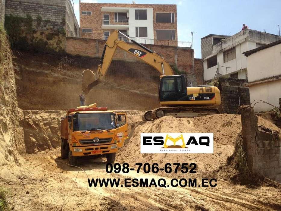 Desbanques, Limpieza de Terrenos, Movimientos de Tierra, Desalojo de Escombros, Plataformas