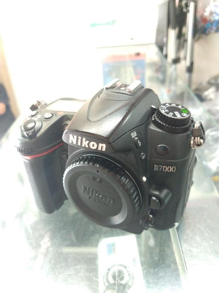 Nikon D7000 Solo Cuerpo con Garantía