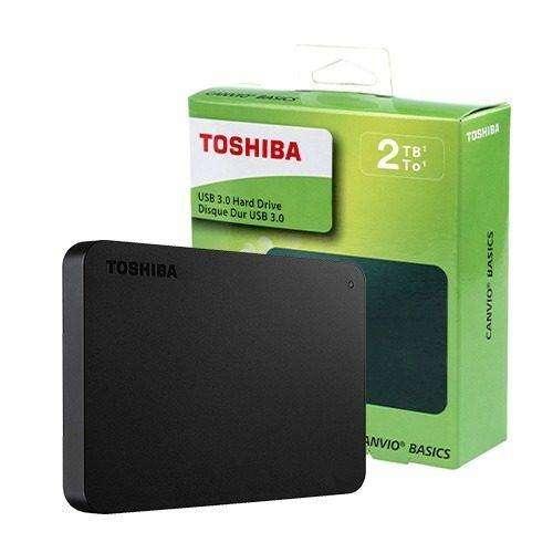 Disco Duro Toshiba Canvio Basic 2tb