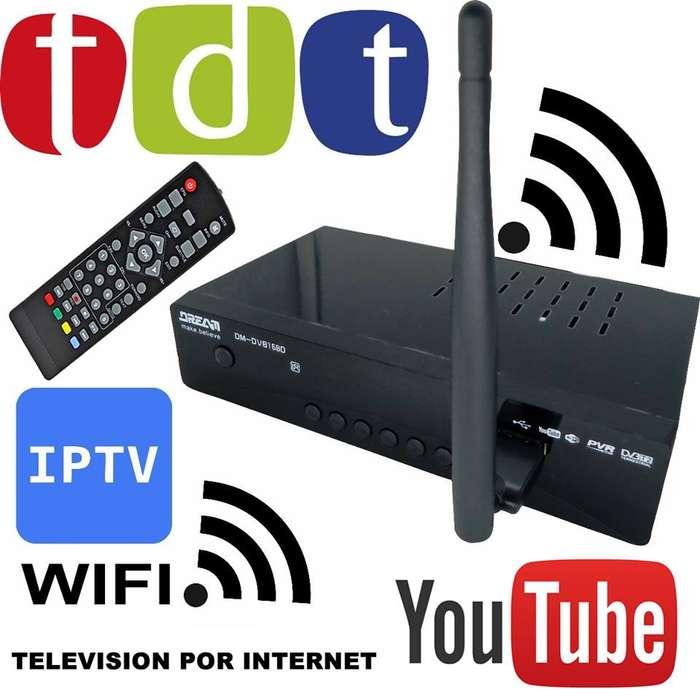 Deco para Tv Digital con Wifi