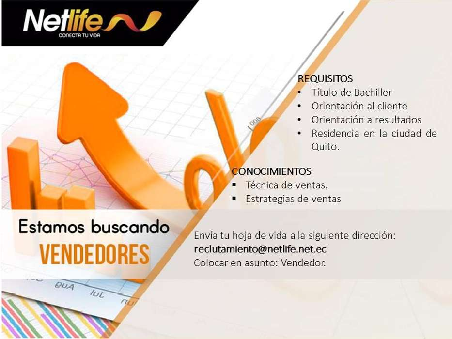 VENDEDORES NETLIFE