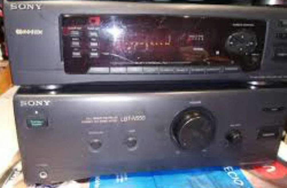 Amplificador Sony Original Radio