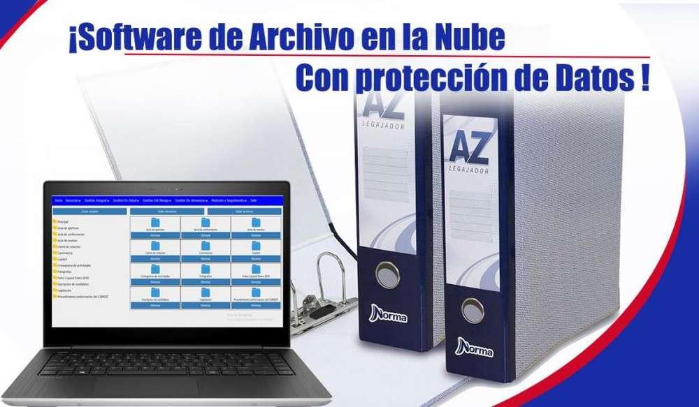 Software Archivador de Documentos En la Nube Maximama Seguridad