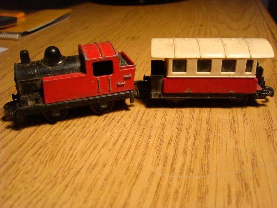 Matchbox Locomotora Y Vagon Matchbox England Año 1978