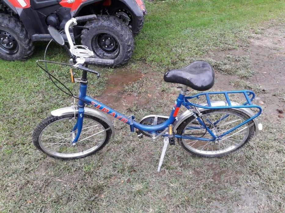 Bicicleta Plegable estilo Retro R20