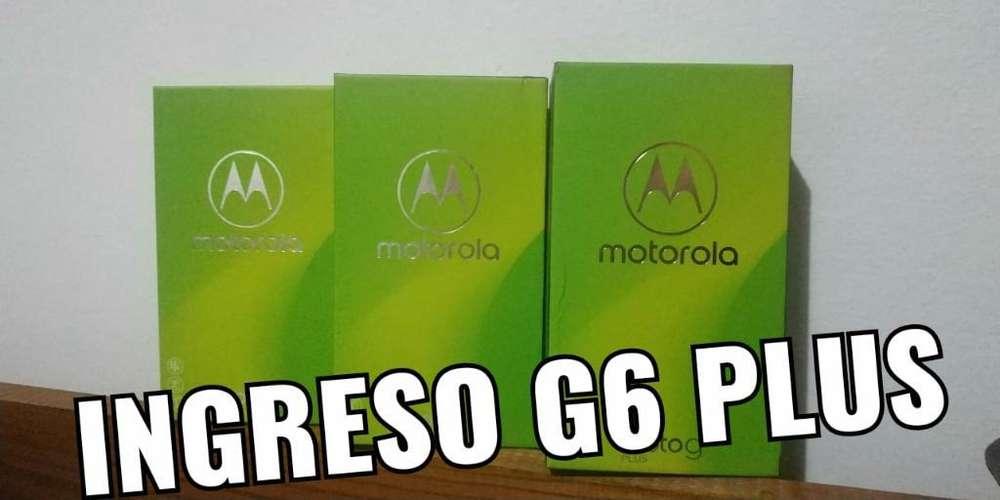 Moto G6 Plus 4g de 64gb,nuevos Y Libres