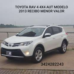 Toyota Rav 4 Aut. 4x4 C/cuero Tope Gama