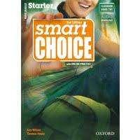 Libros ingles Smart Choice starter A y B