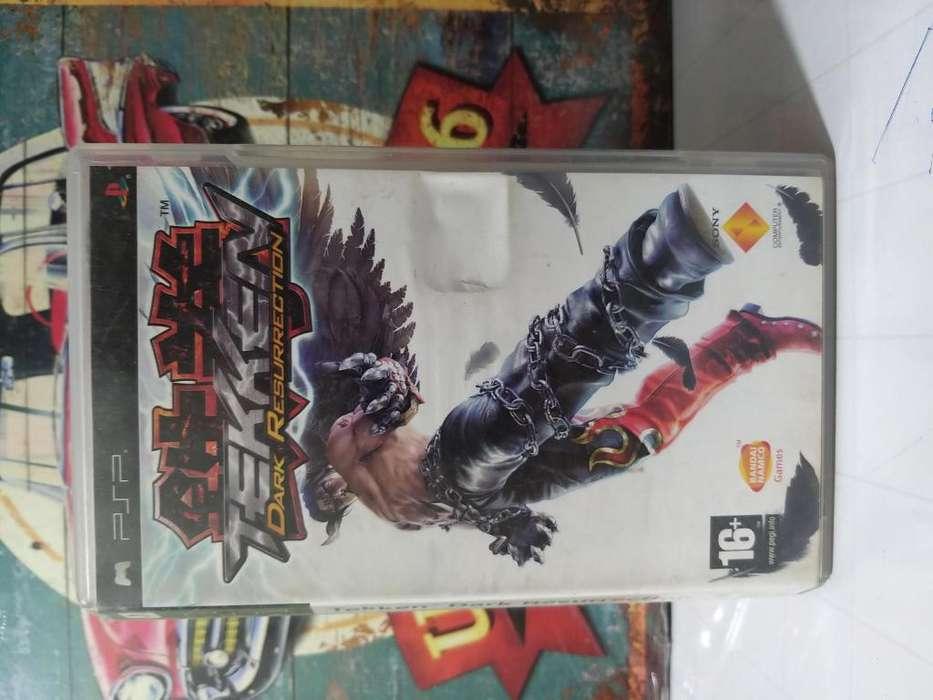 Video Juego Original para Consola Psp Tekken Dark Resurrection Usado