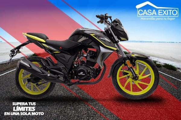 Moto Daytona Dy200 Wing Evo II 200cc Año 2019 Negro R/ Negro A Casa Éxito