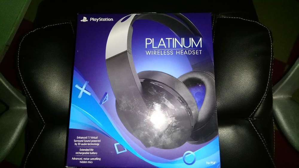 Headset Sony 3d 7.1 Ps4