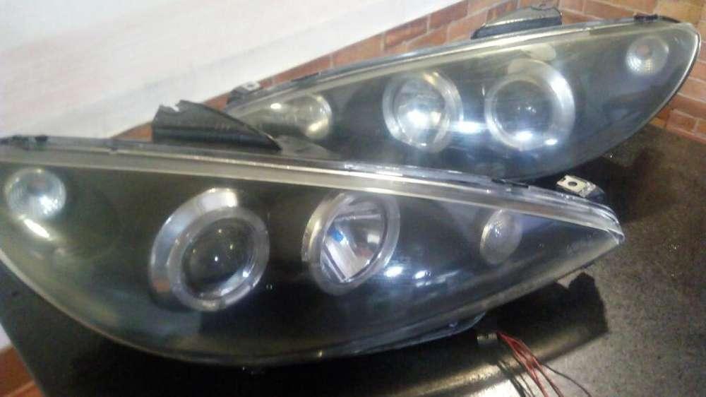 <strong>accesorios</strong> Peugeot 206 Farolas de Lujo