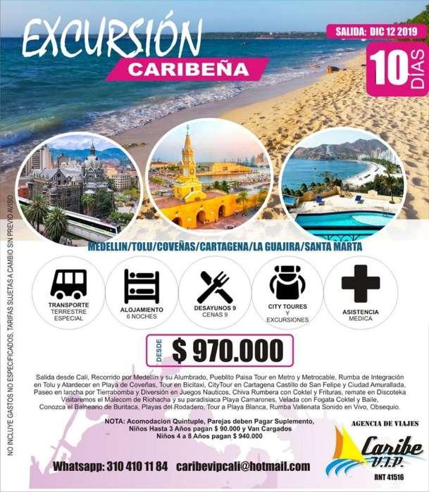 Excursion Costa Atlantica Caribe