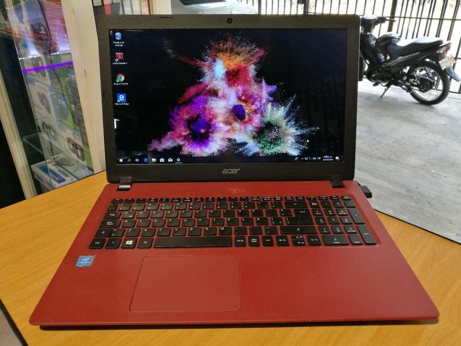 Laptop Acer Pentium Quad Core Roja, 4gb