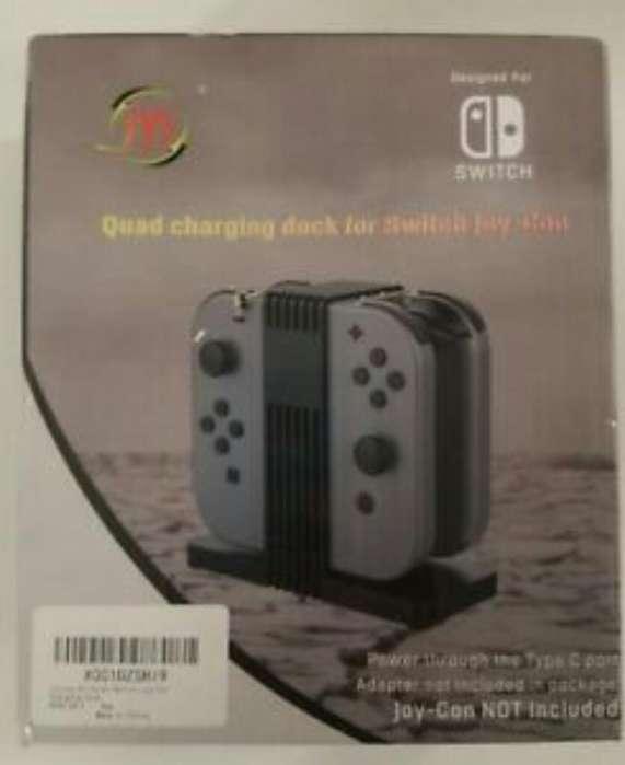 Cargador Bace Mandos Nintendo Switch