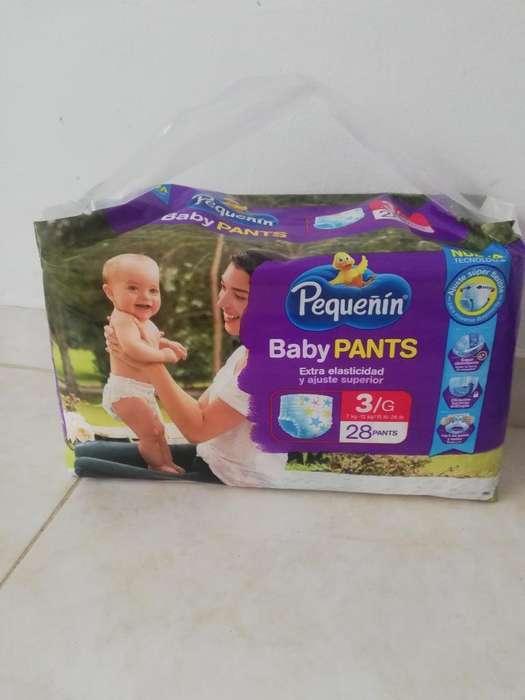 2 Pa Pañal Pequeñín Baby Pants Etapa 3