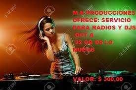 Servicio de Música para Radios y Djs OCT A 2019