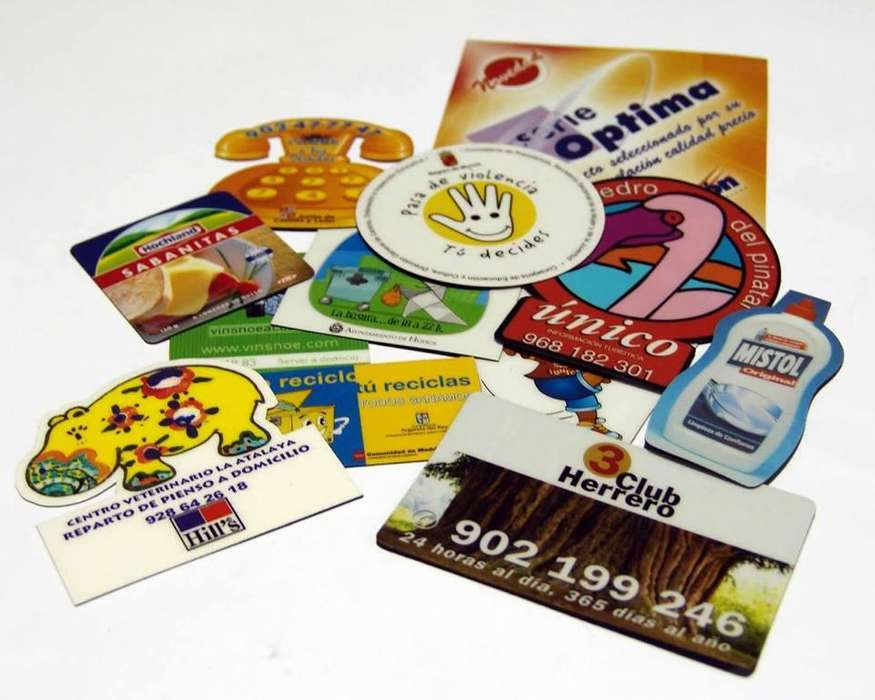 tarjetas imantadas imanadas desde 500 unids