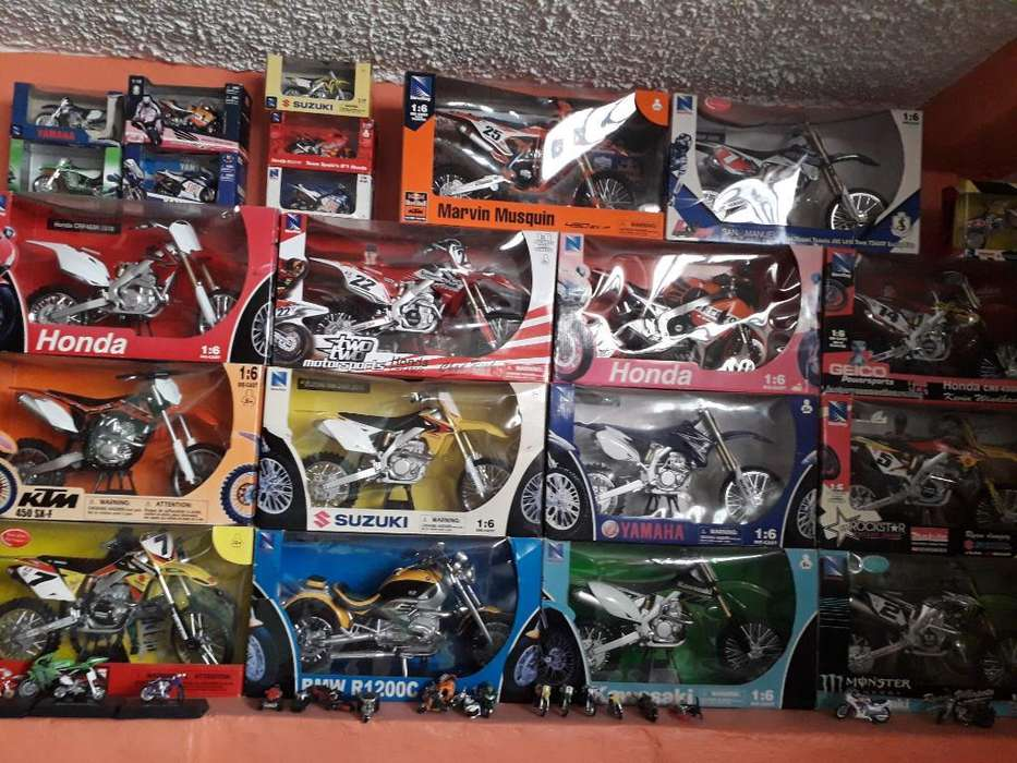 Vendo Coleccion de Motos