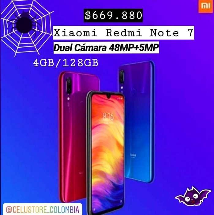 Xiaomi Note 7 128GB TIENDA FISICA EQUIPO NUEVO Y ORIGINAL