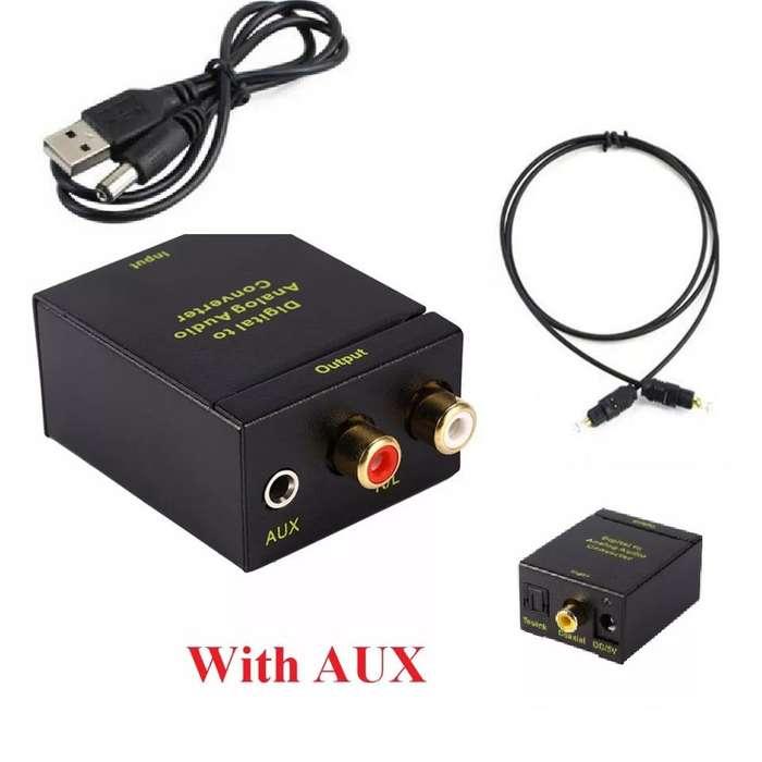 Convertidor de Audio Análogo a Rca jack 3.5