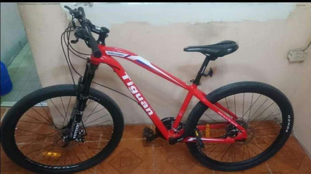 Bicicleta Tiguan Volkswagen 26.7 Rojo