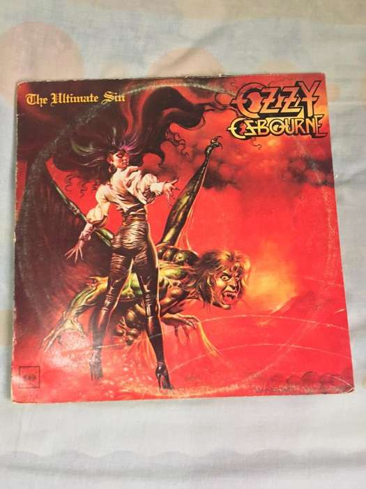 LP * Ozzy Ozbourne - The Ultimate Sin