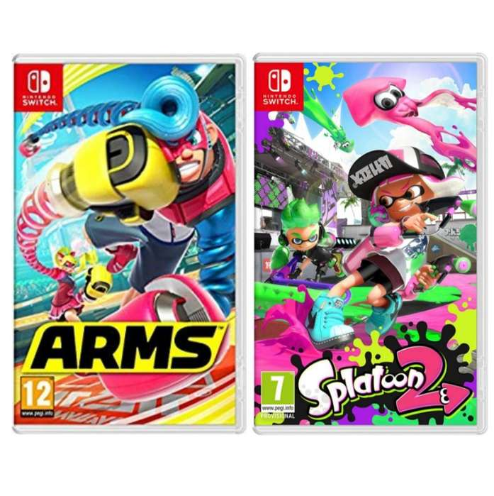 Vendo Arms Y Splatoon 2
