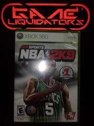 NBA 2K 9 XBOX 360