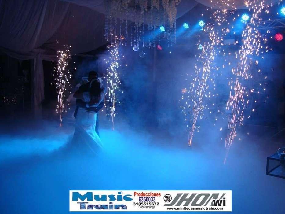 Animacion Musical Eventos Fiestas Minitecas JHON ACEROS MUSIC TRAIN