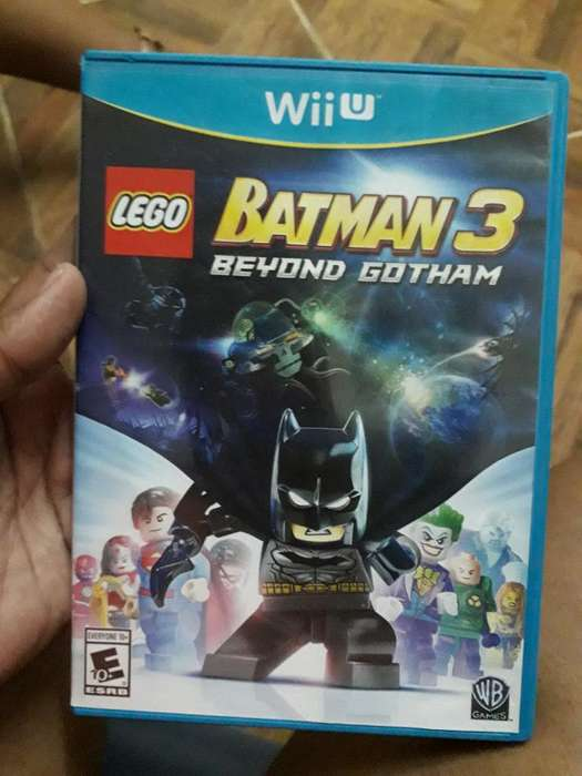 Juego Wiiu Batman3 Economico