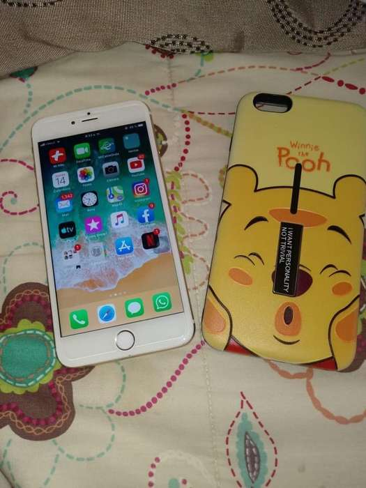Vendo iPhone 6 Plus Gold Rose en 200.00