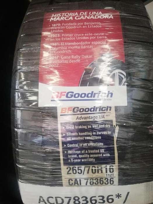 Llanta BFGoodrich 265 70 R16