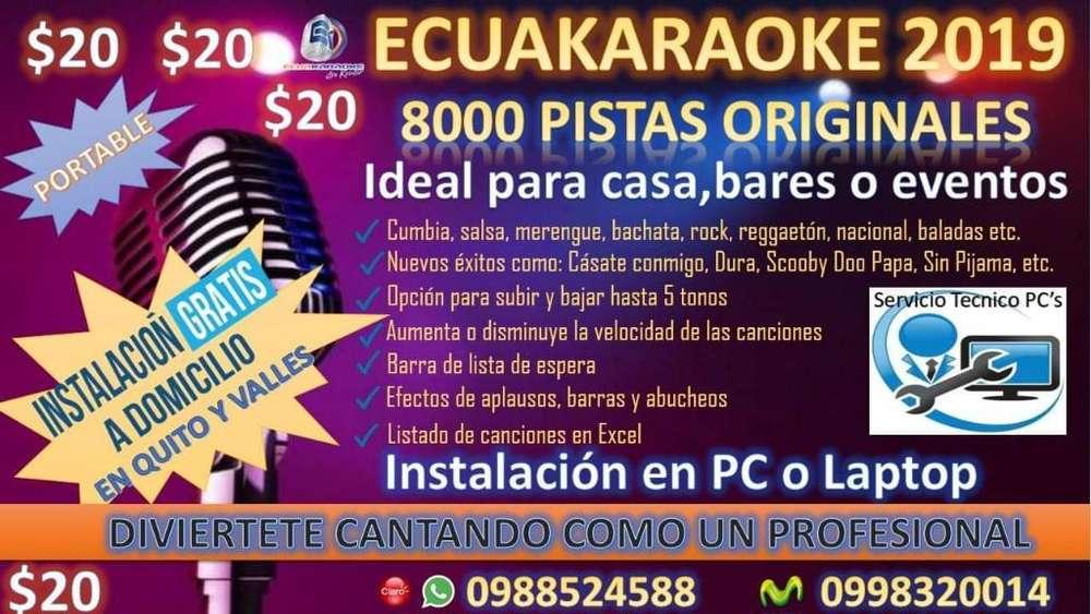 Instalacion Ecua<strong>karaoke</strong> a Domicilio