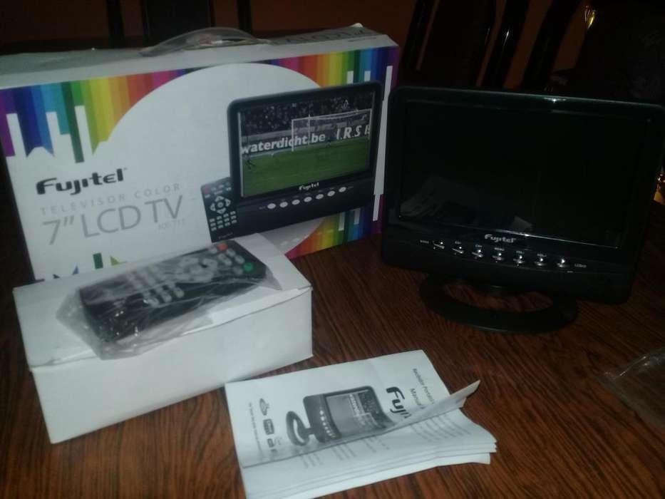 Vendo televisor portatil lcd 7 nuevo en caja