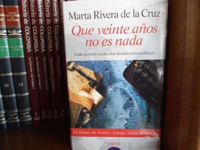Marta Rivera de la Cruz: Que veinte años no es nada