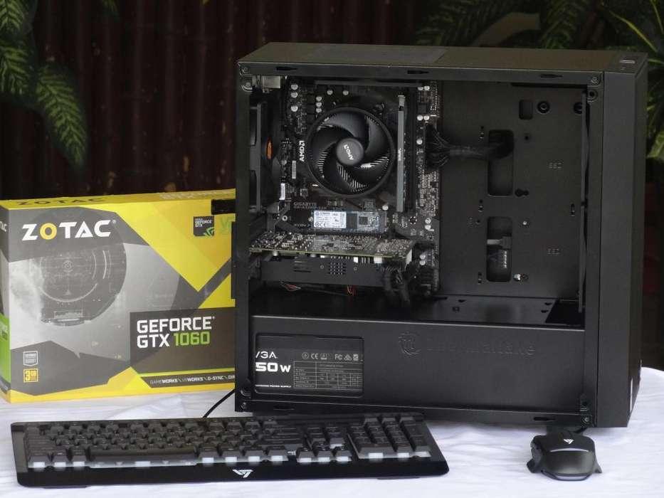Computadora Gaming Ryzen 3 Gtx 1060 Nueva