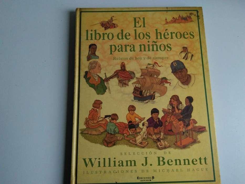 Libro de Los Heroes para Niños