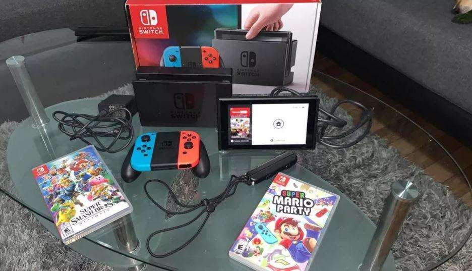 Nintendo Switch 32 gb